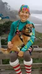 Alika and I in Northern California
