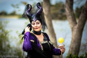I love ren-fests and mashups. My Medieval Maleficent