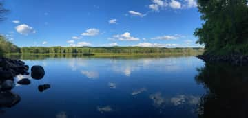 """We are located along the St Croix National Wild and Scenic River. A favorite swimming spot is here on the river near """"Watercress Stream""""."""