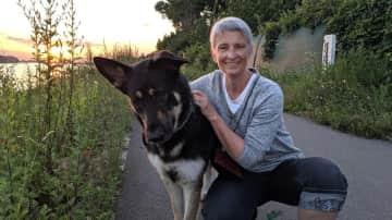Johanne with Sarge, Germany 2019