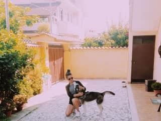 Husky Baby Zoe in Rome