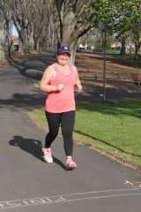 Me doing Park Run