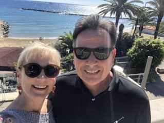 Rebecca and Ed