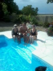 family day by the pool