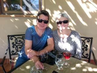 Karen and Leah
