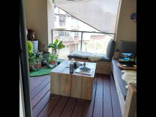 A perfect spot toutside, to work or enjoy