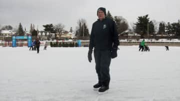 """Skating on the Canal, Ottawa.  """"One more off my bucket list!"""""""