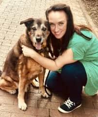 Parker with Mojo in North Carolina