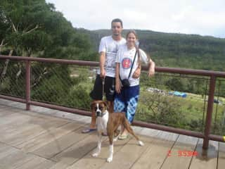 Roberta, John and Sana (we miss her)