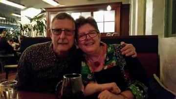 Sally & Tony on the social circuit