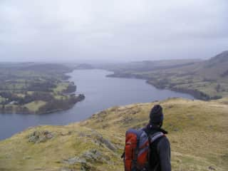 Looking out over Ullswater