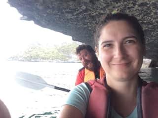 Kayaking in Thailand
