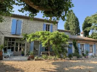 Our old stone farmhouse