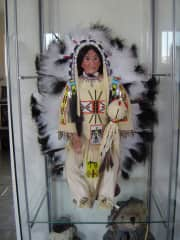 This is Chief Washakie, I made this one for my husband.