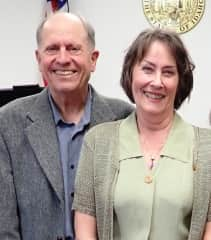 Phil and Evelyn, November 2019