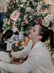 My Great Dane and I