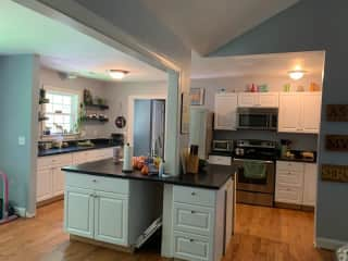 Kitchen, newly remodeled