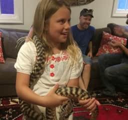 Rescued snake!