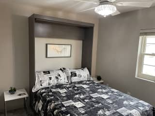 Your Room with new memory foam mattress