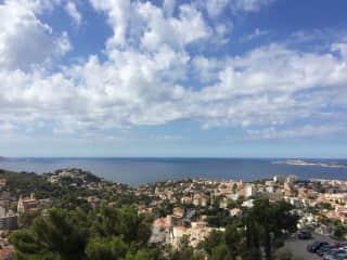 Marseille/View from Notre Dame de la Garde