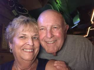 Me and hubby of 56 yrs in June 2021