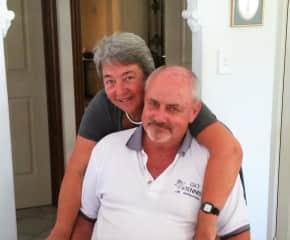 Edith van Dommelen and Gordon Petersen