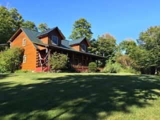 Vermont luxury cabin