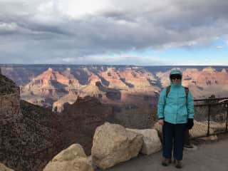 Hiking in the Grand Canyon, Arizona