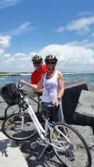 cycling is a passion and enjoying the outdoors