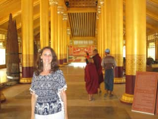 Me on a recent trip to Myanmar