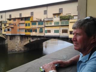 A dream visit Florence and the Ponte Vecchio