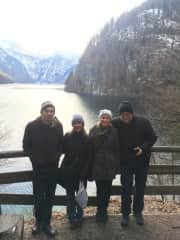 Konigsee with the family