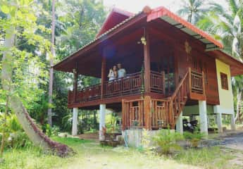 One of our favorite house and pet sits in Koh Phangan, Thailand.