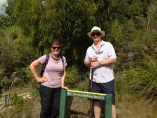 Cruising, hiking, hobbit-ing! in New Zealand.