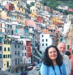 Alba & Mike in Riomaggiore, Italy