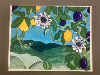 One of my watercolors.