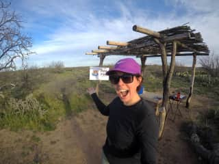 For a while, I became a 'trail angel' on the Arizona Trail and provided fresh water and snacks to hikers.