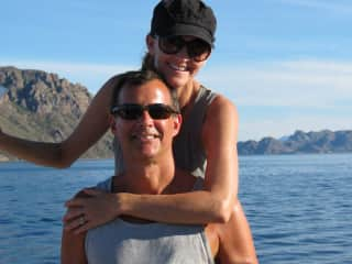 Us Sailing in the Sea of Cortez