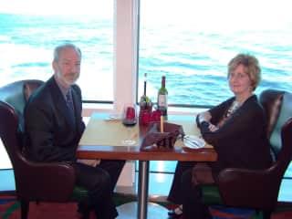 Paul and Sherry on our New Zealand, Australia & Fiji cruise