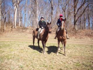 Horse riding in the US