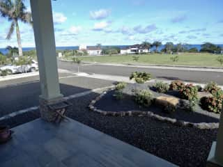 View of Pacific Ocean from Front Porch