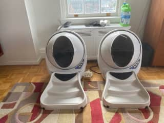 Yes Electronic litter boxes
