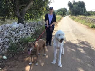 Sophie Hoover and Gail  Cassible  Sicily