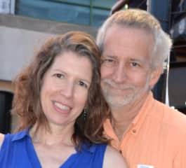 Judi and Bert at a Jazz Festival