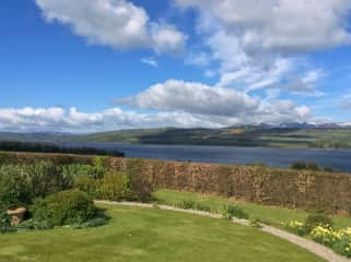 Cromarty Firth from the garden