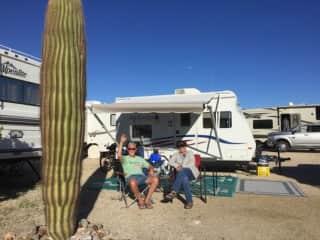 Camping in Quartzsite, Arizona