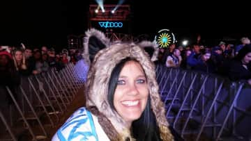 Me at VooDoo Music and Arts Festival in New Orleans, Louisiana a few moons ago.