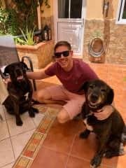 Matt, Rocky & Rambo in Tenerife, Spain