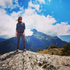 Me on the Routeburn Track, NZ