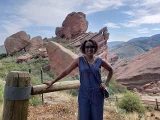 Visiting Red Rocks in Colorado